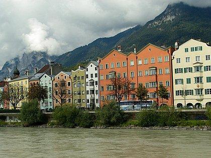 Innsbruck Panorama mit Nordkette