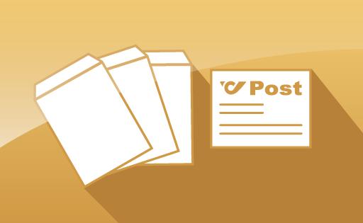kostenloser Postversand